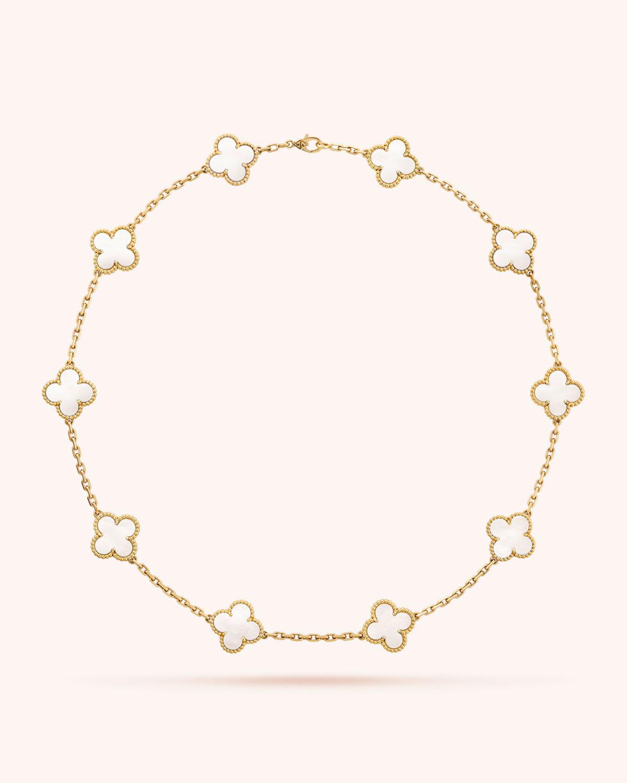 8ddce21ac7 Van Cleef   Arpels Vintage Alhambra Necklace