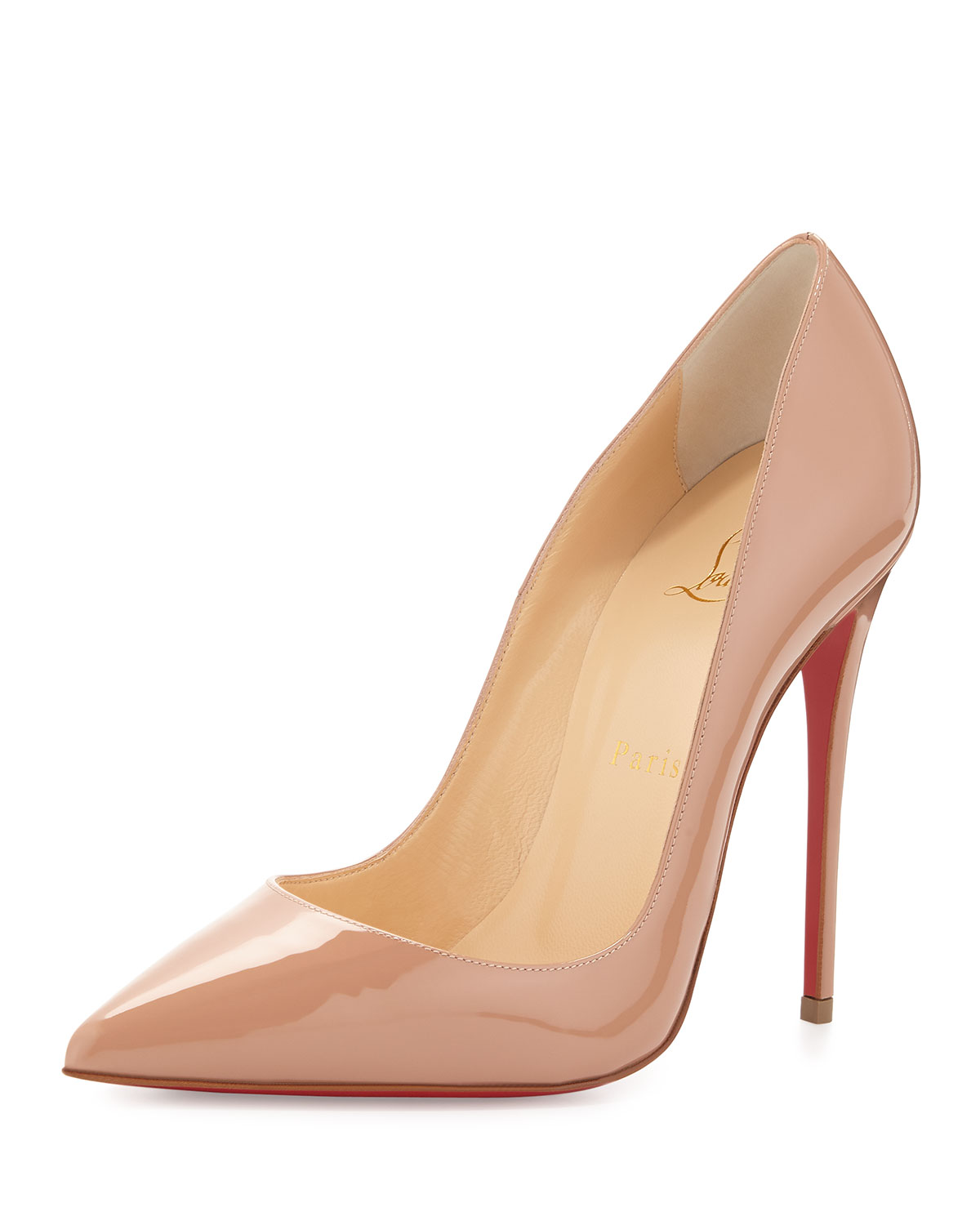 64e07a7d647c Christian Louboutin So Kate Patent Red Sole Pump