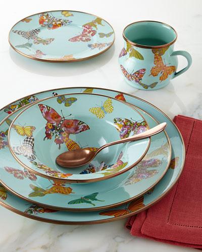 Butterfly Garden Sky Dinnerware