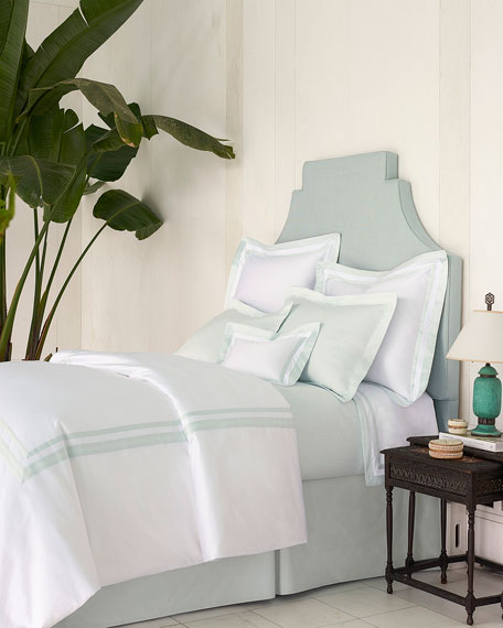 Annie Selke Luxe King Piazza Duvet Cover