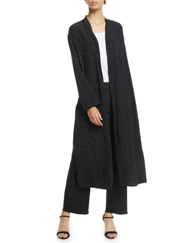 Morse Code Long Kimono Jacket and Matching Items