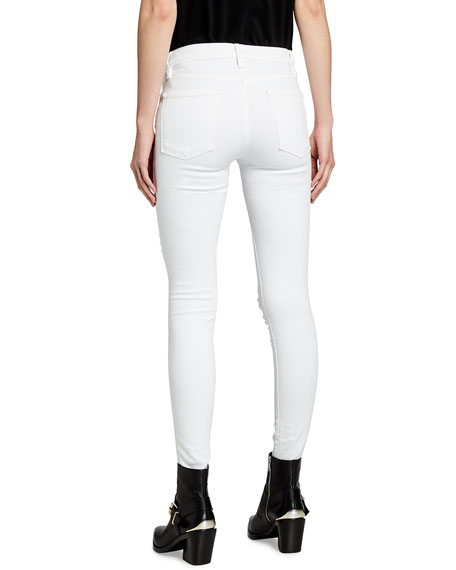 Le Color Rip Skinny Jeans