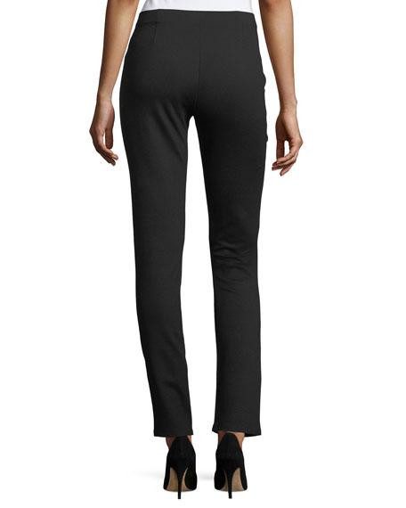 Eileen Fisher Petite Slim Ponte Pants
