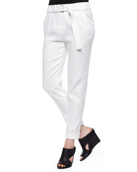 Belted straight-leg pants Vince Buy Cheap Official Site PubBpEba