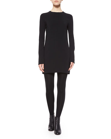 Helmut Lang Long-Sleeve Tunic Dress