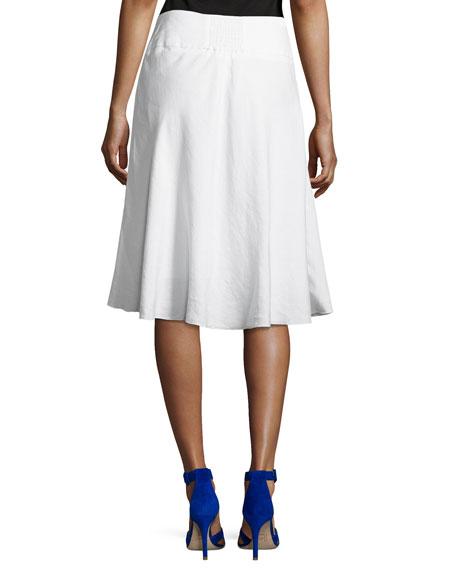 Summer Fling Linen-Blend Skirt
