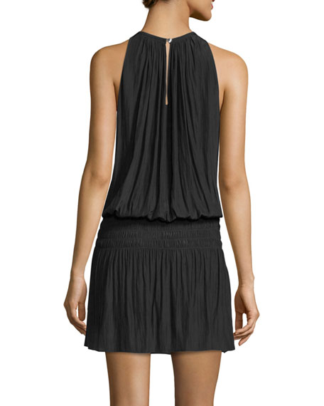 Paris Sleeveless Blouson Dress