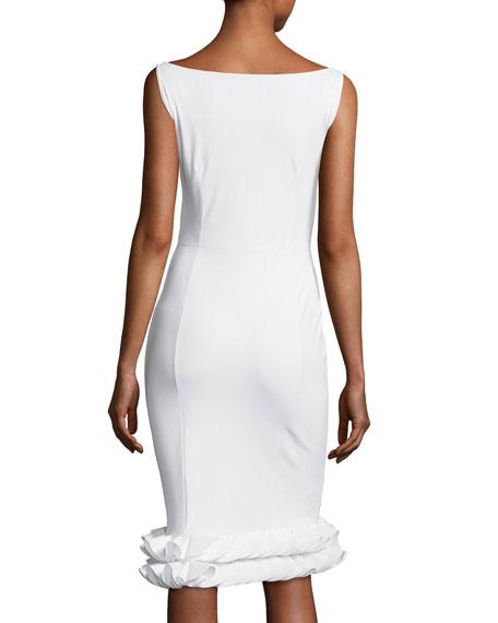 Cobie Tiered-Hem Jersey Dress