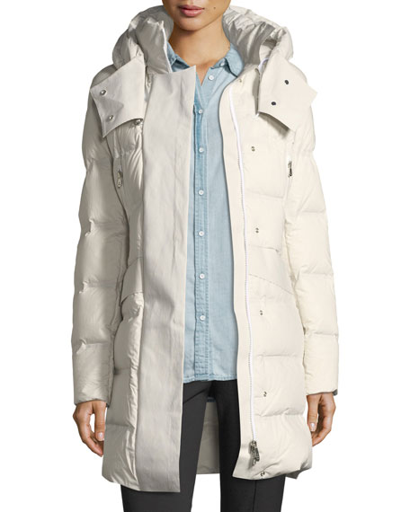 Peuterey Giffard Long Quilted Puffer Coat