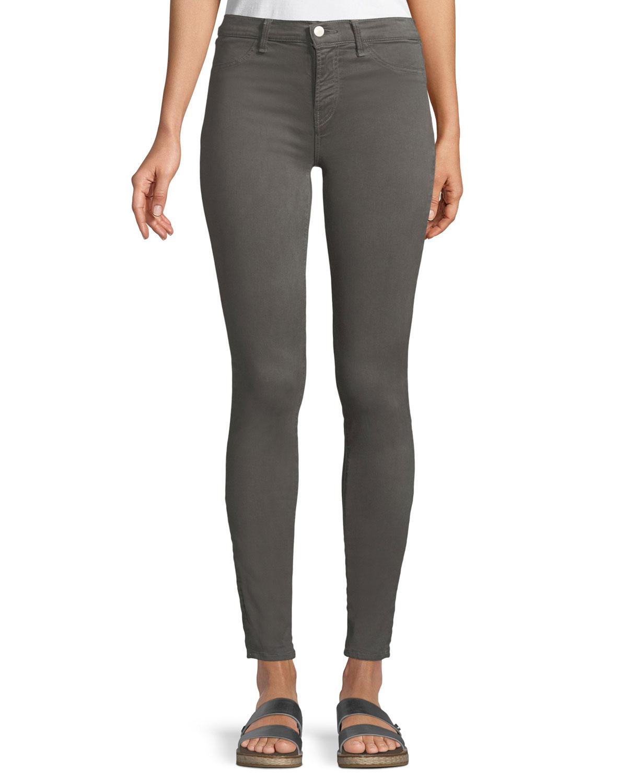 ec3b09558a31 J Brand 485 Mid-Rise Super Skinny Jeans