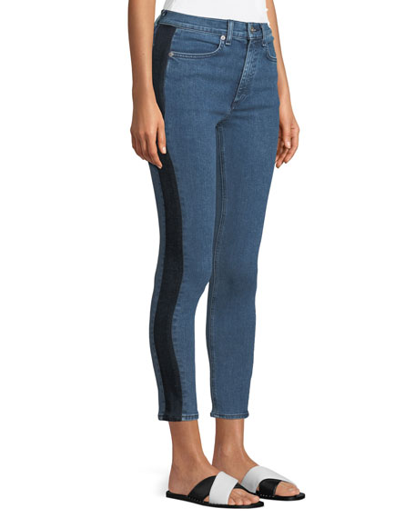 Mazie Skinny Jeans with Side Stripe