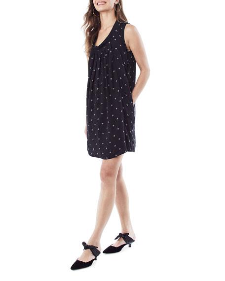 Loyal Hana Maternity Anya Printed Sleeveless Shift Dress