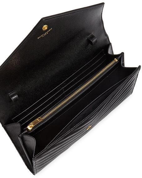 Monogram Matelassé Leather Wallet-on-Chain