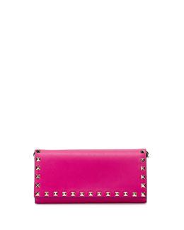 Rockstud Wallet-on-Chain, Pink