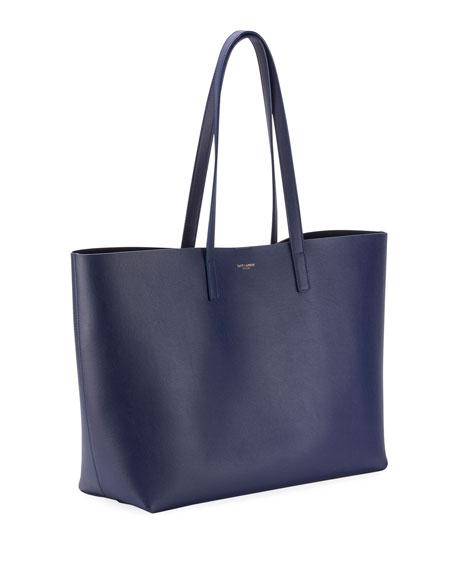 Saint Laurent East West Calfskin Shopping Tote Bag