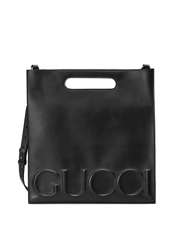 f8956b2cd84 Gucci Linea Gucci XL Leather Tote Bag