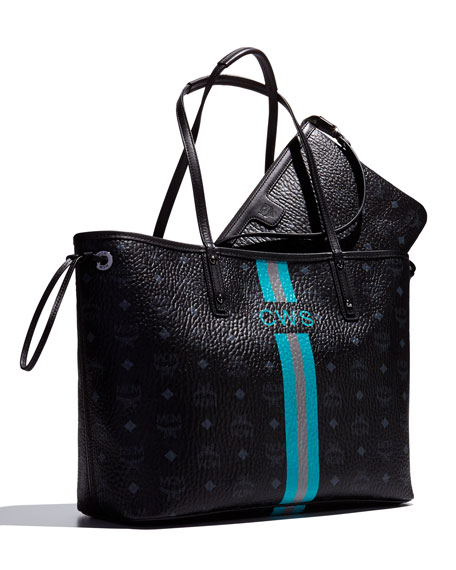 Shopper Project Visetos Reversible Tote Bag, Black