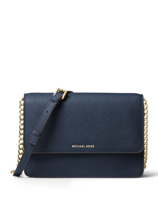 7fd1ccc2222e0 MICHAEL Michael Kors Daniela Large Saffiano Crossbody Bag