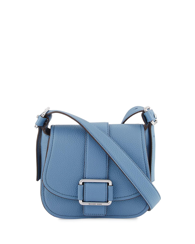 3c624f7c458bb MICHAEL Michael Kors Maxine Medium Leather Saddle Bag