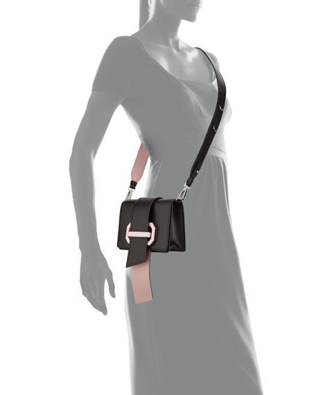 Plex Ribbon Geometric Small Shoulder Bag