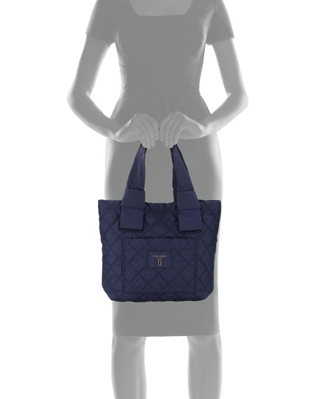 Marc Jacobs Small Quilted Nylon Knot Tote Bag | Neiman Marcus : marc jacobs quilted tote bag - Adamdwight.com