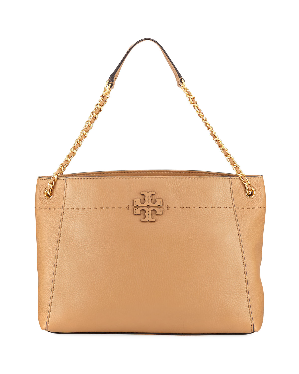 d31097155a33 Tory Burch McGraw Woven Chain Slouchy Tote Bag