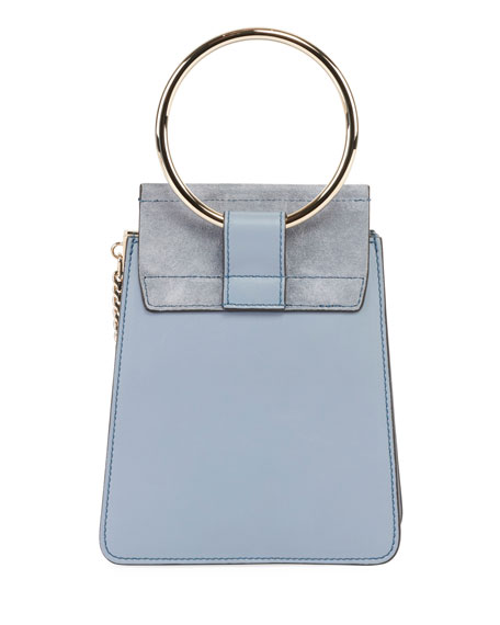 Faye Small Leather Bracelet Bag