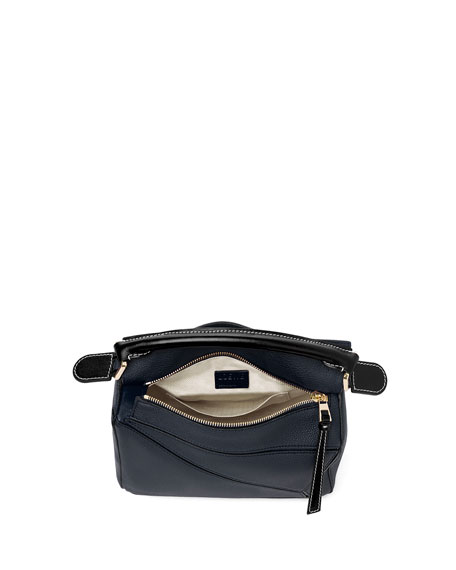 Image 4 of 5: Loewe Puzzle Small Leather Satchel Bag