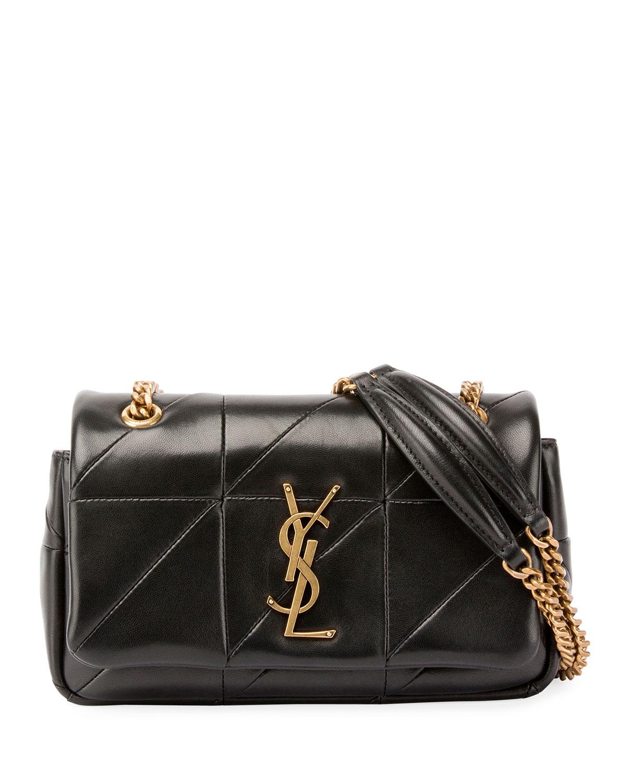 e505819f4e Jamie Monogram YSL Small Diamond-Quilted Chain Shoulder Bag