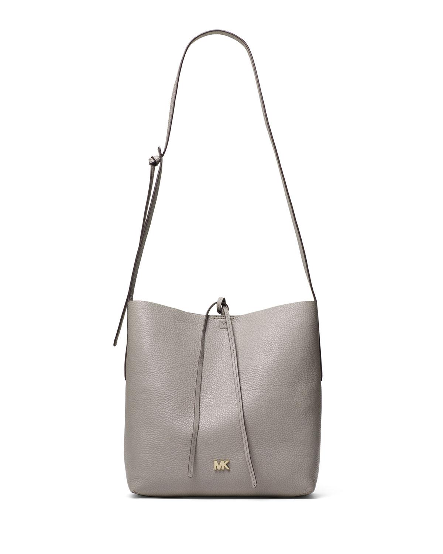 b8cd89c97c56 MICHAEL Michael Kors Junie Large Leather Crossbody Messenger Bag ...