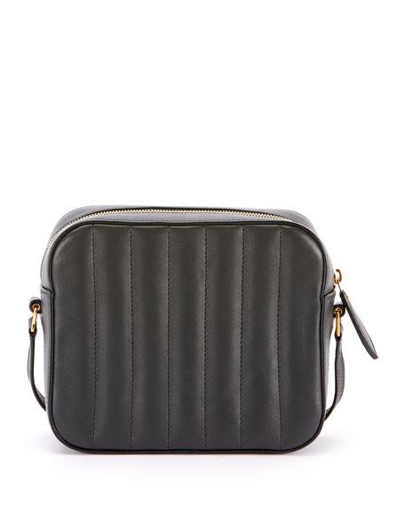 Saint Laurent Vicky Medium Ysl Monogram Quilted Camera Bag