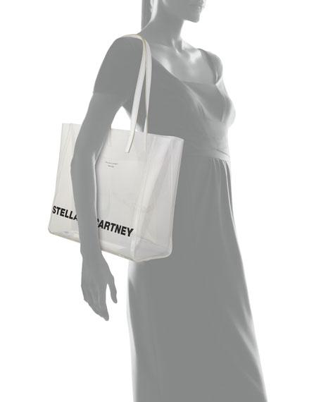 Stella McCartney Clear Logo Tote Bag