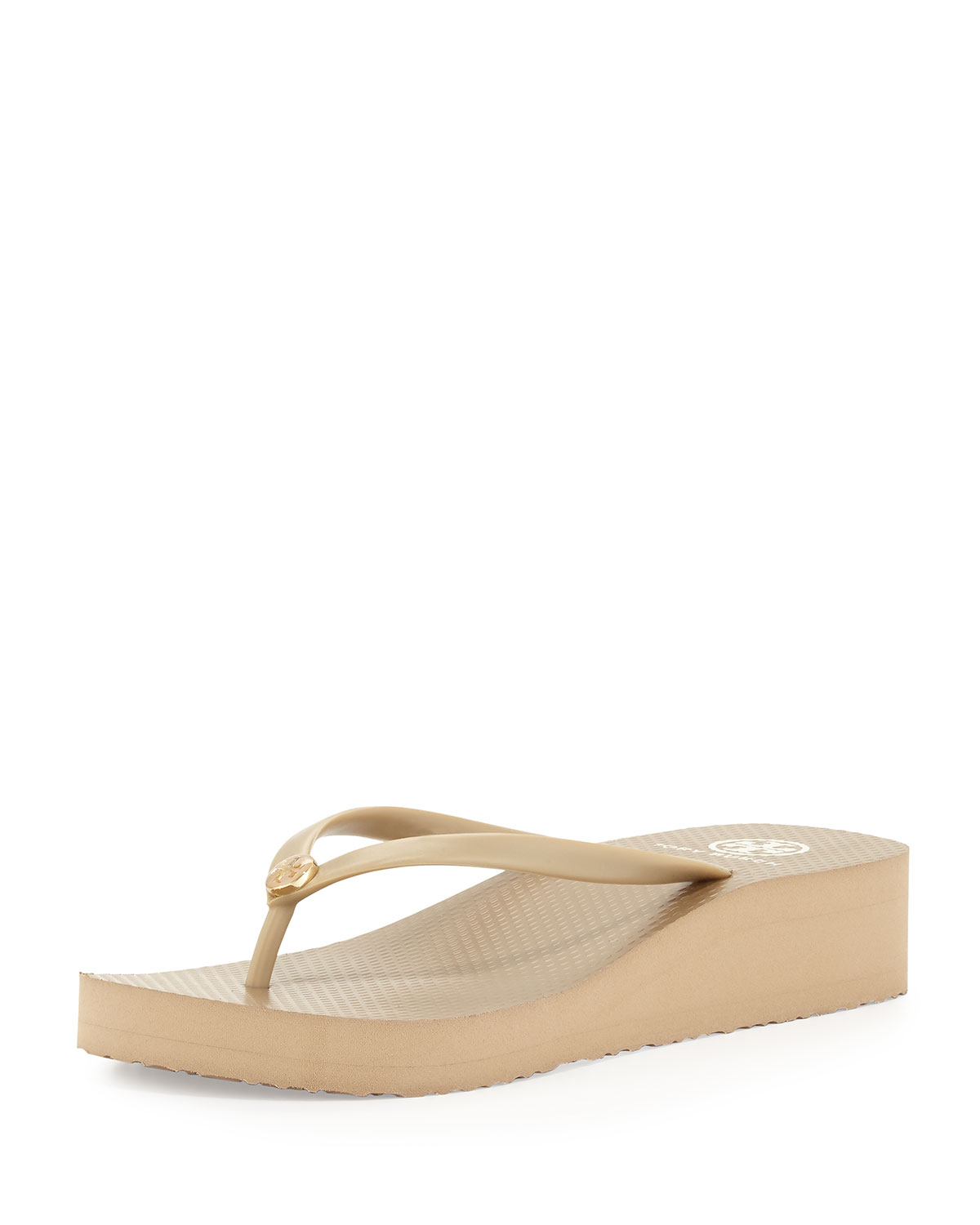 180fdd52e455 Tory Burch Rubber Wedge Flip-Flop