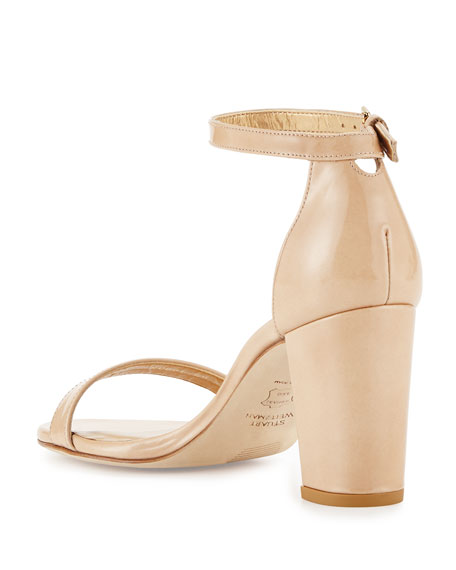 Nearlynude Patent City Sandal