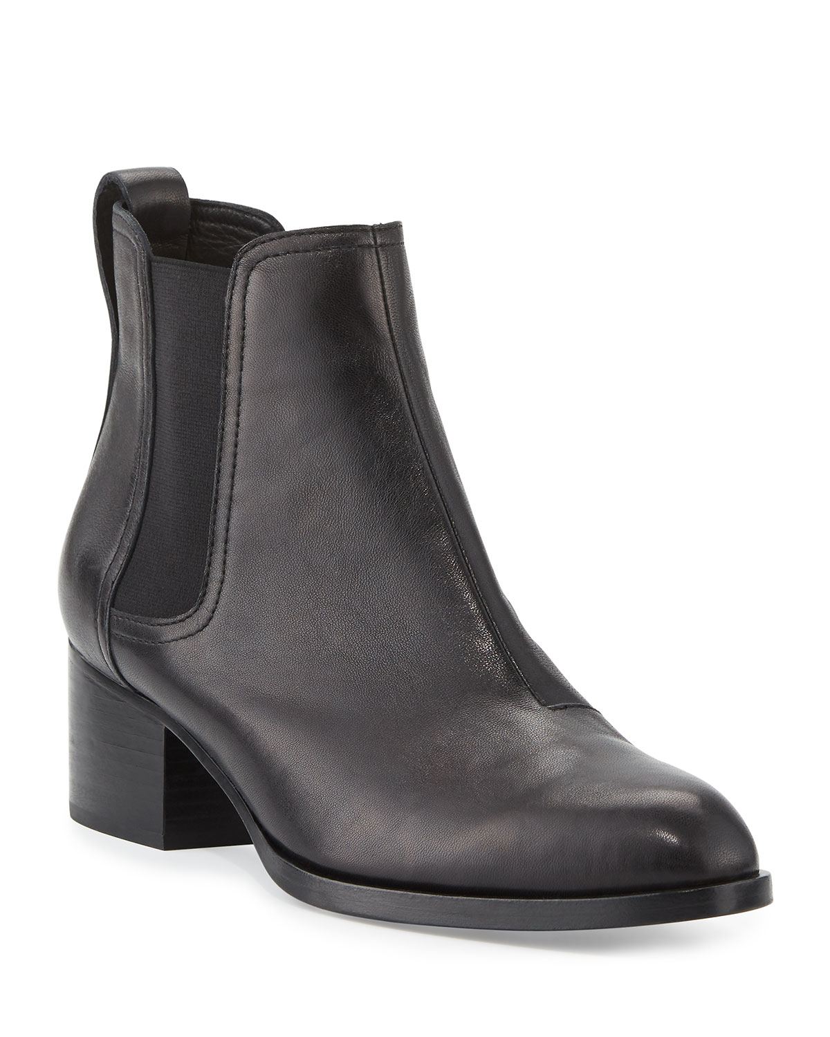 ef28d08493 Rag & Bone Walker Leather Ankle Boots, Black | Neiman Marcus