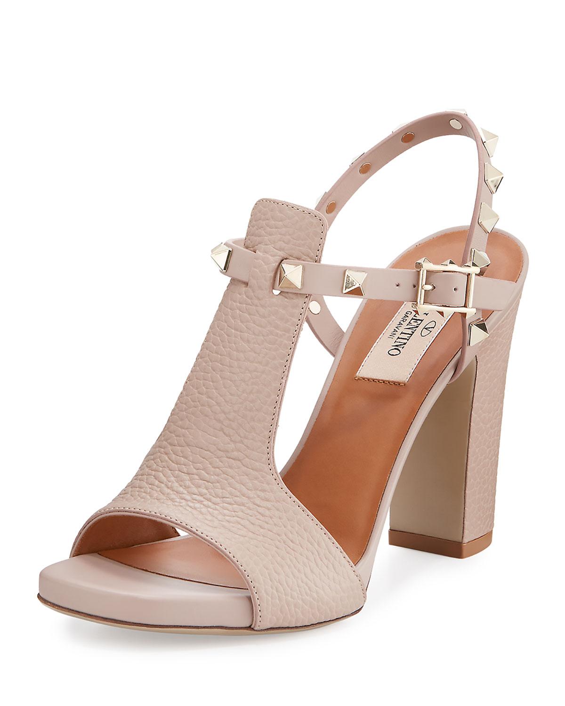 d57a31b2ddc Valentino Garavani Rockstud T-Strap 105mm Sandal