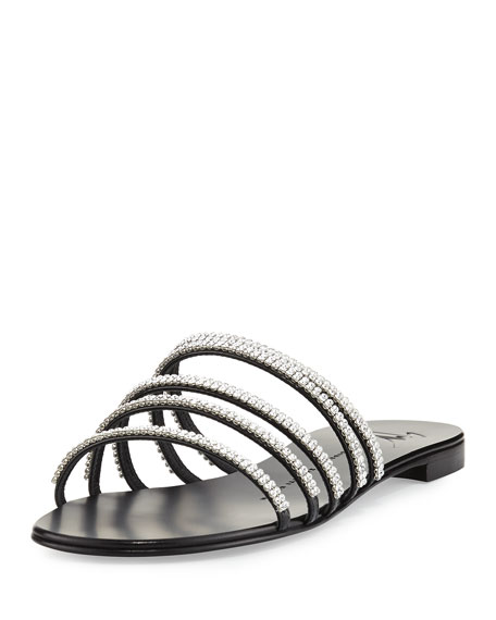 Giuseppe Zanotti Embellished Slide Sandals cost for sale cheap latest shop for sale online cheapest price cheap online free shipping many kinds of TcqLckE