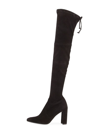 Image 3 of 5: Highchamp Suede Over-the-Knee Boot