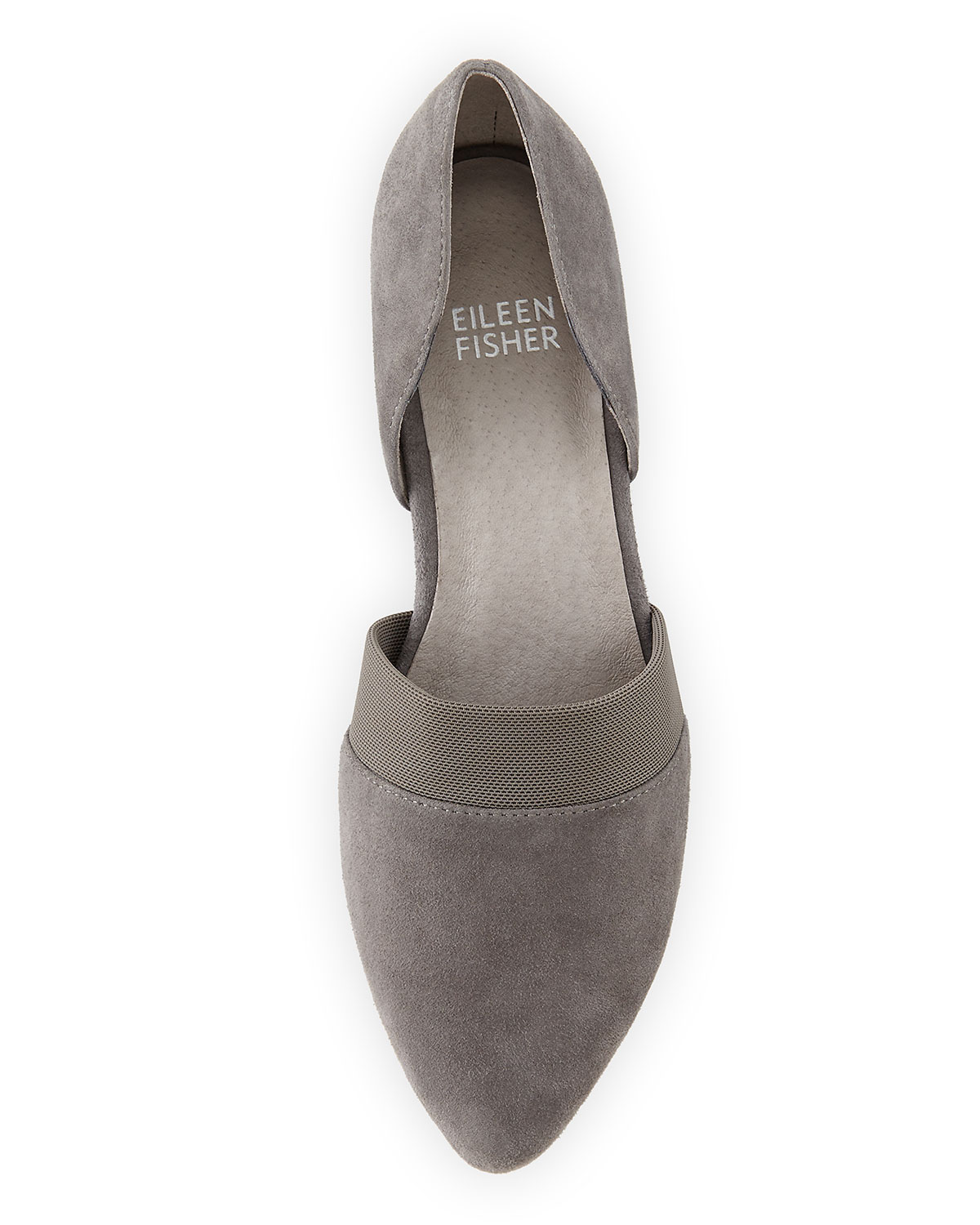 Eileen Fisher Hilly Demi-Wedge Suede
