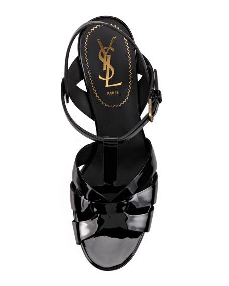 "Tribute Patent Sandals, 4"" Heel"