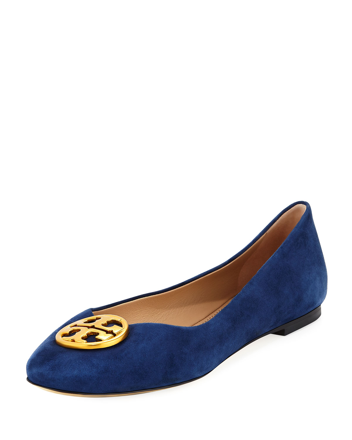 83699b5bc651 Tory Burch Chelsea Suede Ballet Flat