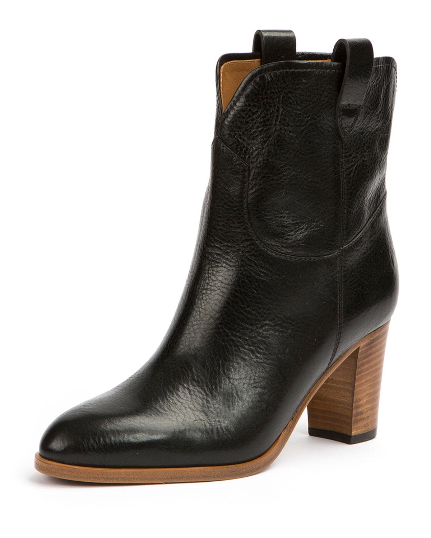 Frye June Antiqued Short Ankle Boot