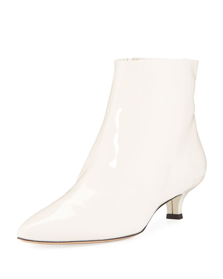THE ROW Coco Patent Leather Booties