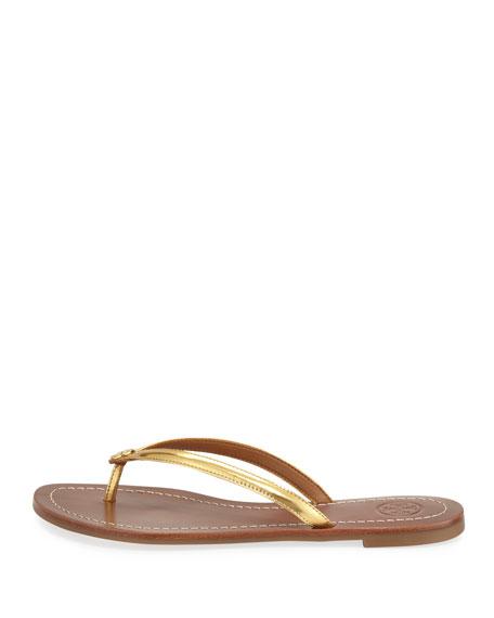 Terra Metallic Thong Sandal