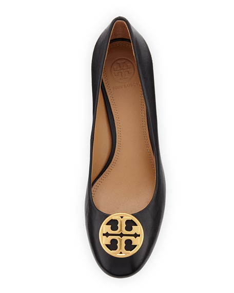Image 3 of 3: Tory Burch Chelsea Wedge Medallion Pump