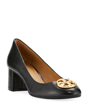 dc229c6352 Tory Burch Chelsea Medallion 50mm Pump