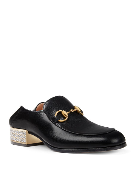 Gucci Mister 30mm Leather Loafer