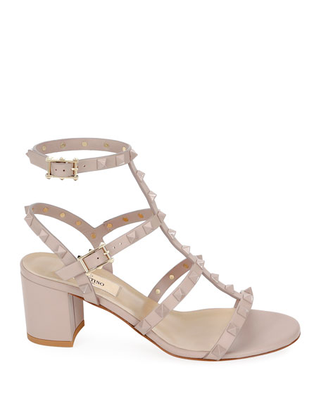 Rockstud Smooth Calf Sandals