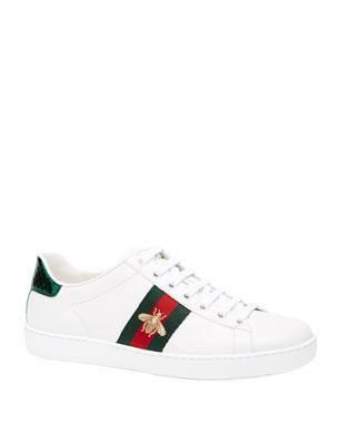 pretty nice 5b965 fdd5a Gucci Bee Sneaker