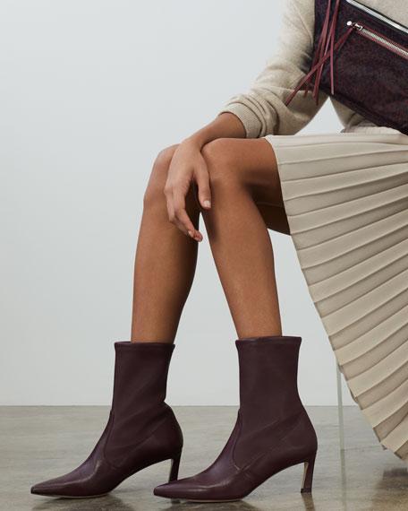 Stuart Weitzman Rapture 55mm Lush Napa Sock Bootie